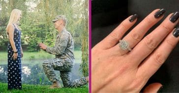Jeweler Gives Away $10K Diamond Ring To Help Veteran's Valentine's Day Proposal