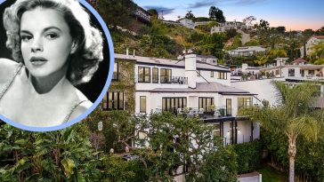 Judy Garland's 1940s home is on the market