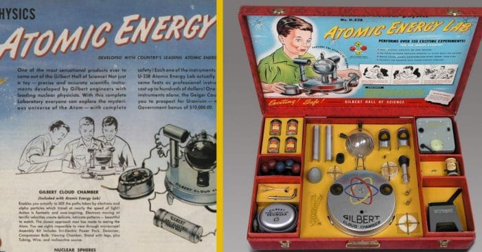 Kids could experiment with actual uranium
