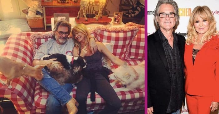 Kurt Russell And Goldie Hawn Just Celebrated Their 31st Anniversary