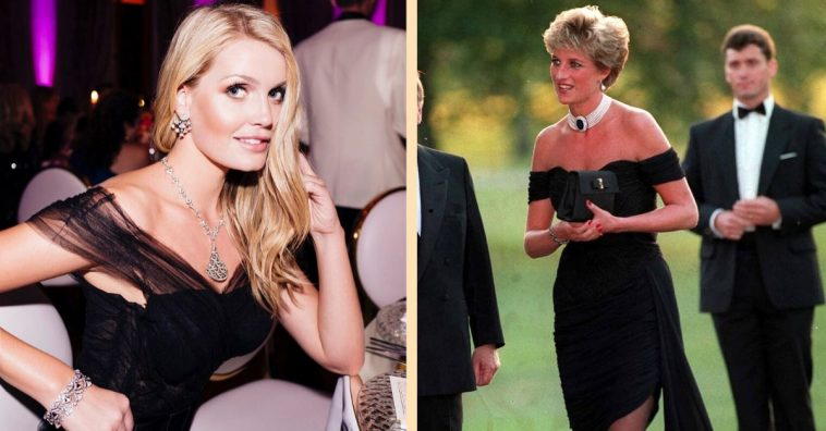 Lady Kitty Spencer is showing some strong similarities to her aunt, Princess Diana