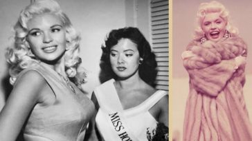 Looking at Jayne Mansfield and Mariska Hargitay feels like seeing twins