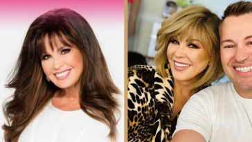 Marie Osmond got herself a whole new style the other day