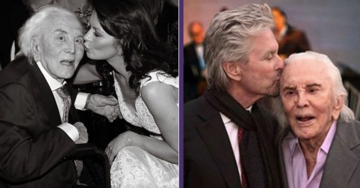 Michael Douglas And Catherine Zeta-Jones React To Death Of Kirk Douglas