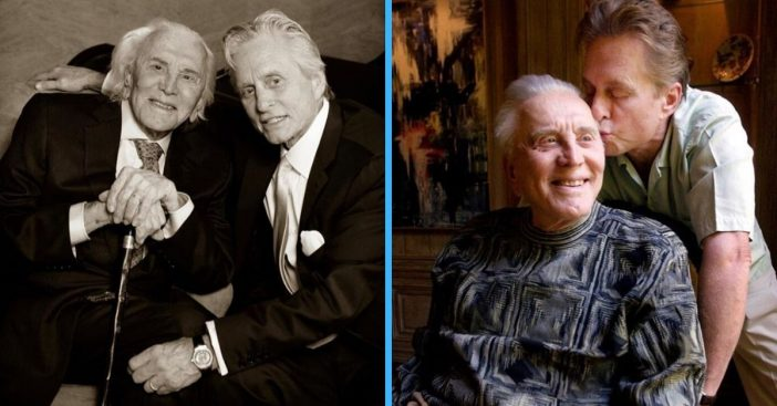 Michael Douglas shares post thanking fans for support after Kirk Douglas death