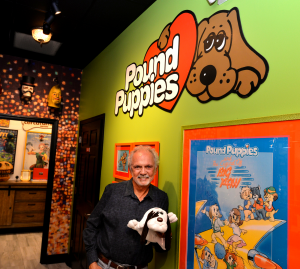 Mike Bowling, creator of Pound Puppies, sold the Brand to Hasbro in 2011. But even today he wants everyone to pursue their dreams, and if it involves adopting a puppy, why not a Pound Puppy to start off