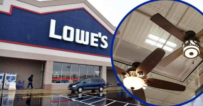 More Than 70,000 Lowe's Ceiling Fans Have Been Recalled