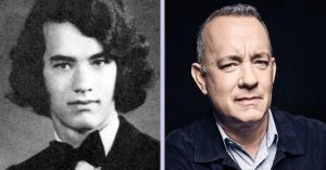 One of America's most beloved actors, Tom Hanks, then and now
