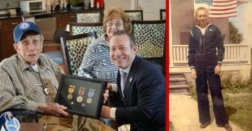 Over seven decades have passed since Thomas Simpson served, but now he is finally getting his medals at the age of 92