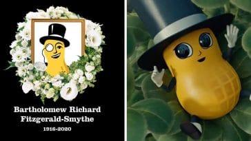 Planters Mr Peanut returns as Baby Nut