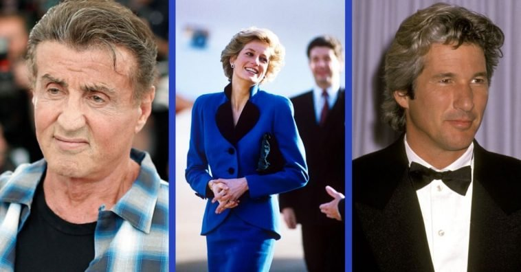 Richard Gere and Princess Diana instantly hit it off, but not everyone was happy about that