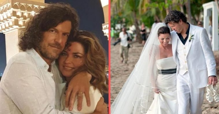 Shania Twain talks about her husband and finding love again