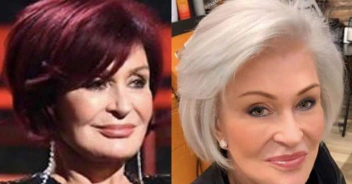 Sharon Osbourne Debuts New White Hair After Dyeing It Red For 18 Years