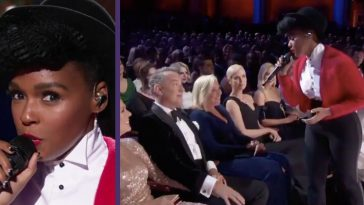Singer Janelle Monáe Serenades Tom Hanks With 'Won't You Be My Neighbor_' At 2020 Oscars