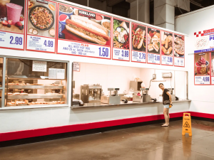 Some Costco food courts may require a membership card if that store enforces the new policy