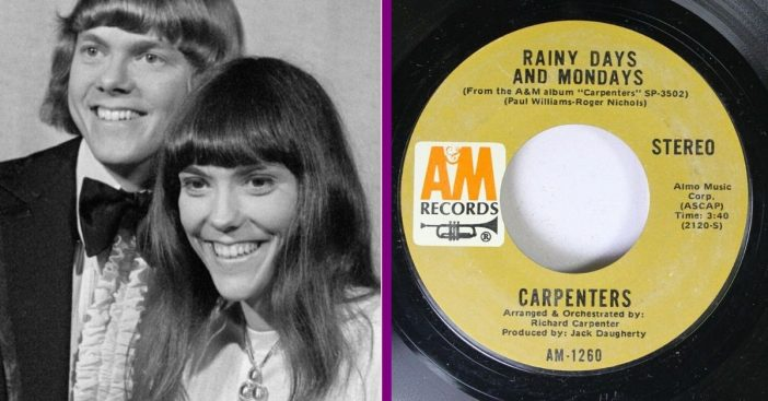 The Carpenter's _Rainy Days And Mondays_ Was Originally Going To The 5th Dimension