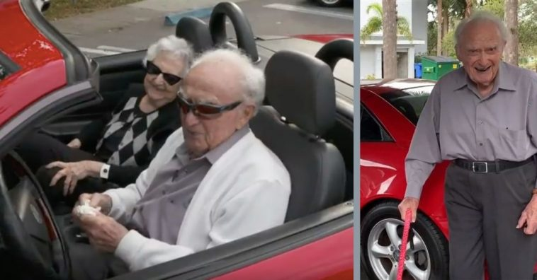This 107-Year-Old Man Could Be The Oldest Driver In The Country