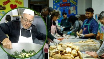 This 90-Year-Old Chef Cooks Hundreds Of Meals For The Homeless Every Week