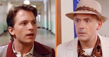 This 'Back To The Future' Deepfake With Robert Downey Jr. And Tom Holland Is Incredibly Believable