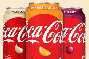 Vanilla, Orange, and Cherry Coke flavors are very popular, even when combined