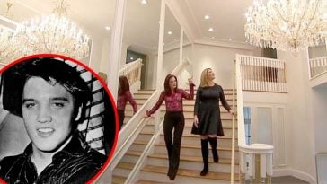 WATCH_ Priscilla Presley Gives Tour Of Elvis' Guest House At Graceland
