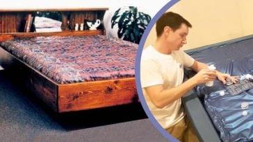 Waterbeds were healthy, unique, and fun - and high maintenance