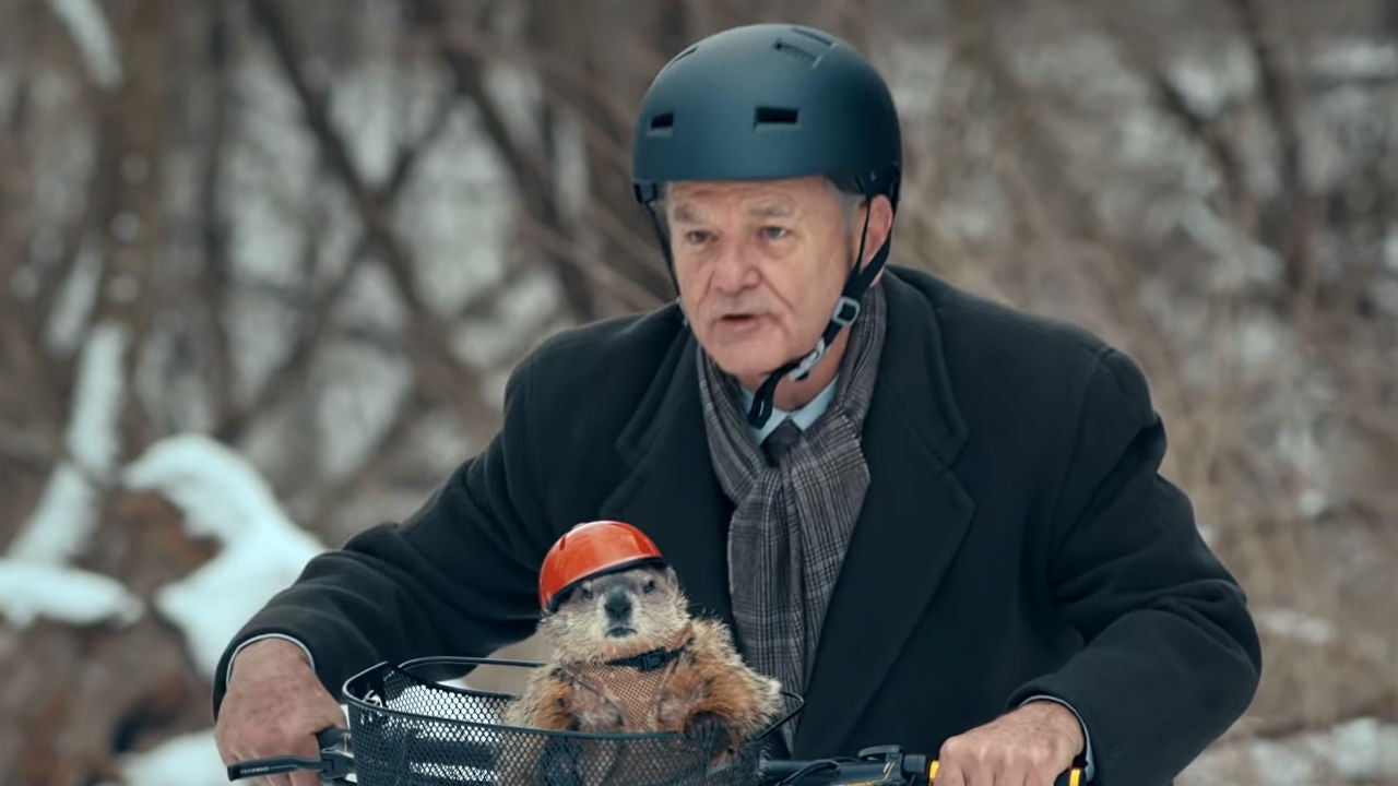 bill murray groundhog jeep commercial