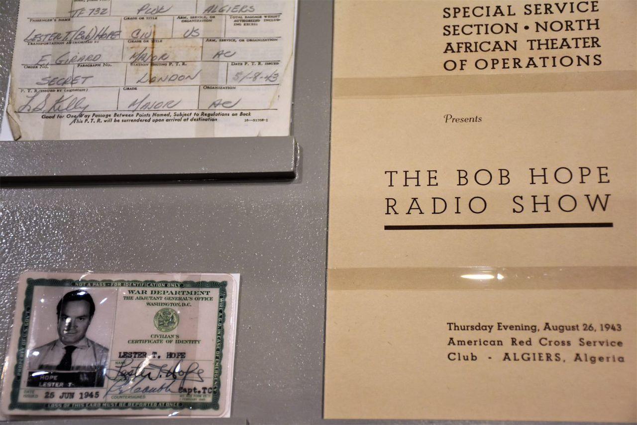 veterans museum honors bob hope