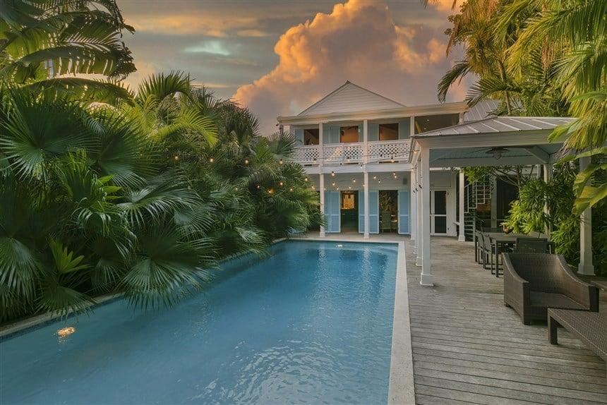 dale earnhardt jr key west home for sale pool