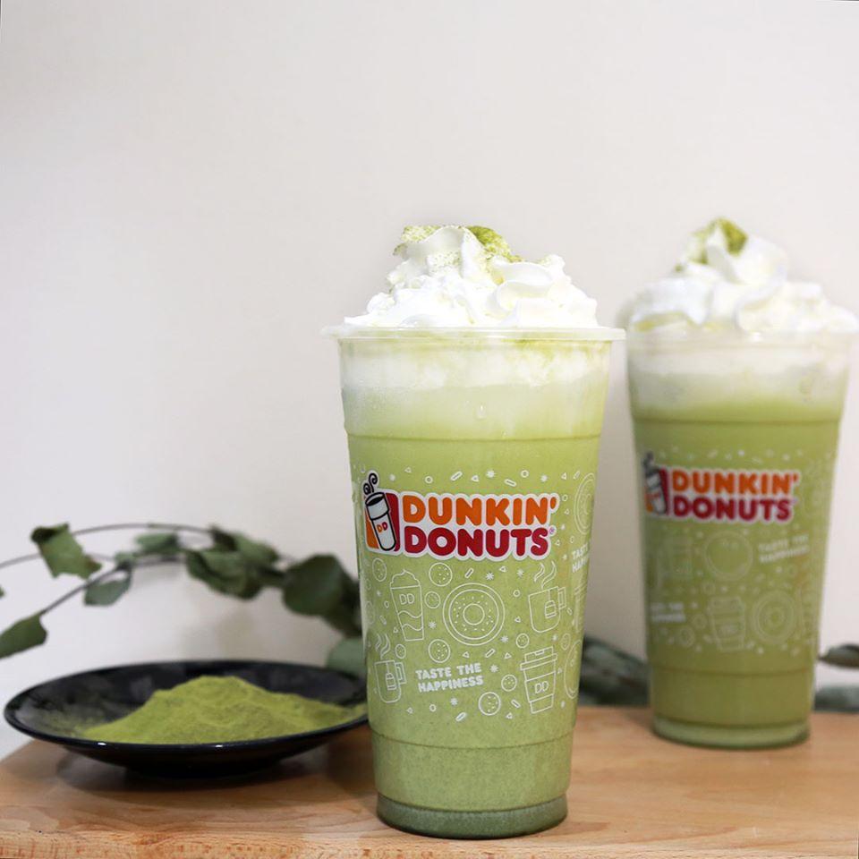 matcha latte drinks dunkin