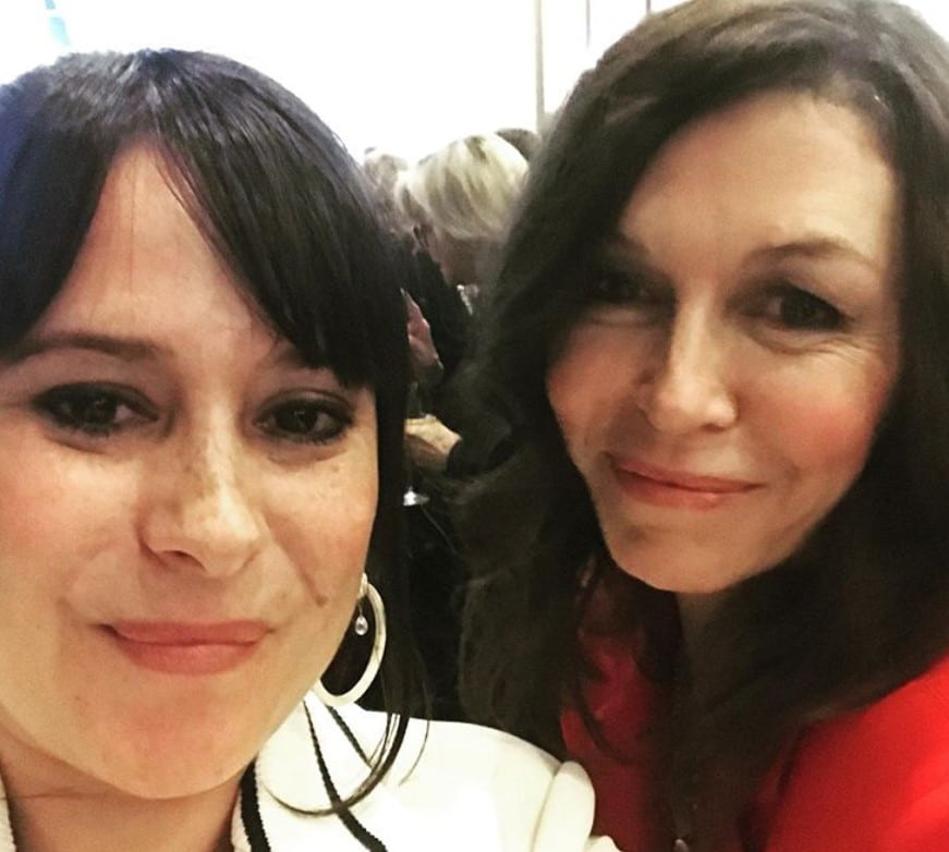 Finola Hughes Kimberly McCullough general hospital reunion