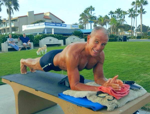 George hood veteran plank pose