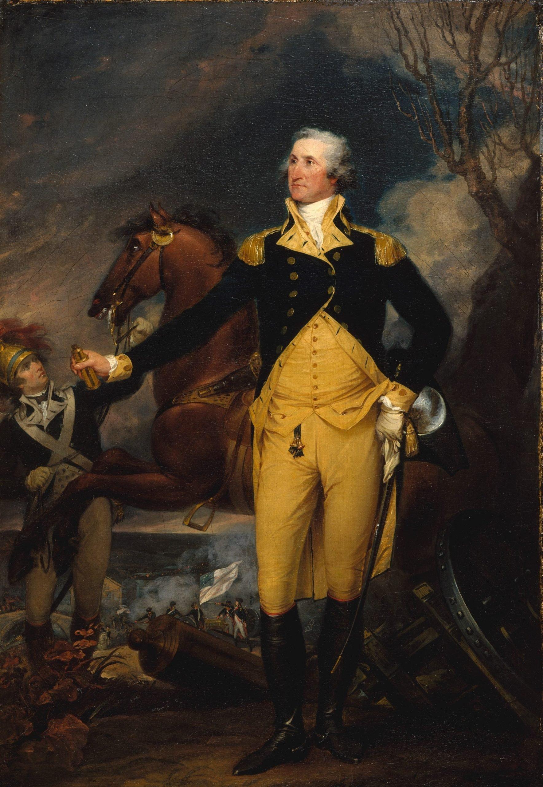 myths about george washington