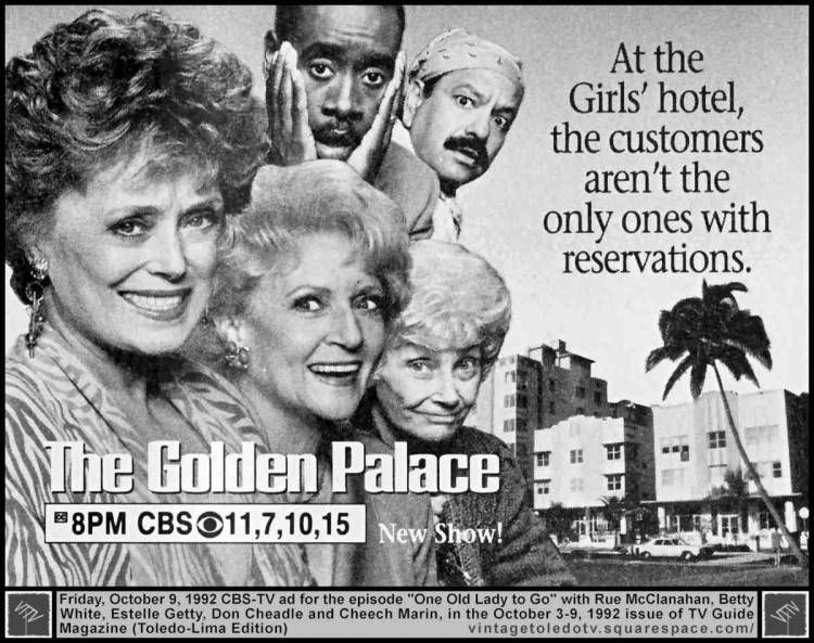 the golden palace ad
