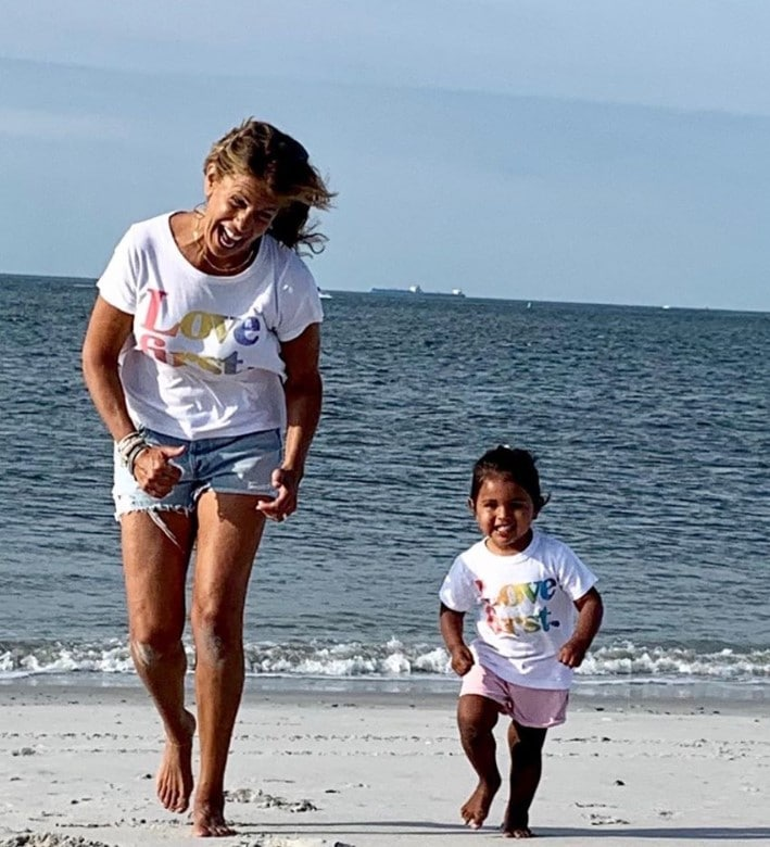 hoda kotb haley joy beach