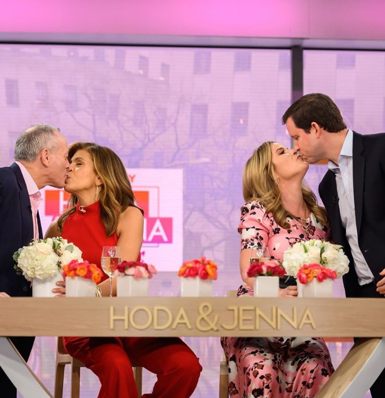 hoda kotb jenna bush hager husbands