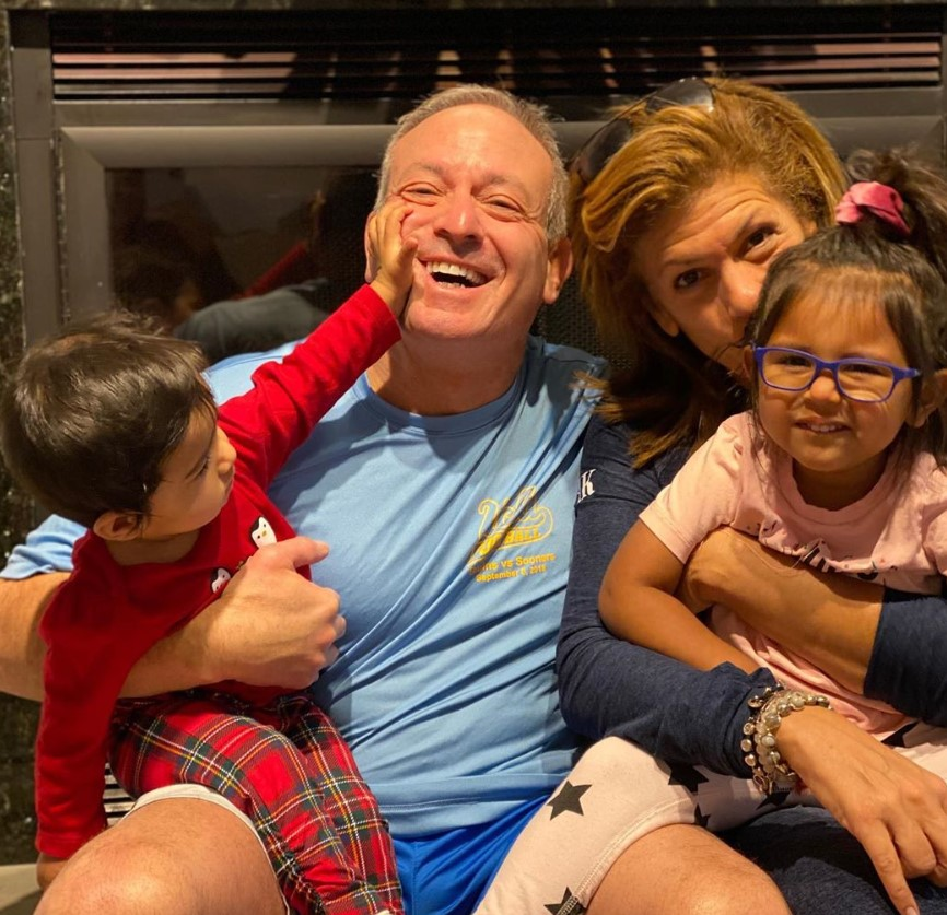 Hoda Kotb Joel Schiffman Haley Joy Hope Catherine