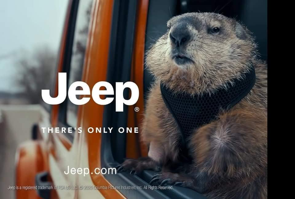 groundhog jeep commercial