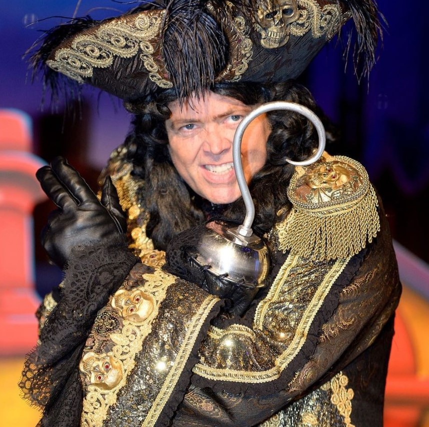 jimmy osmond peter pan captain hook