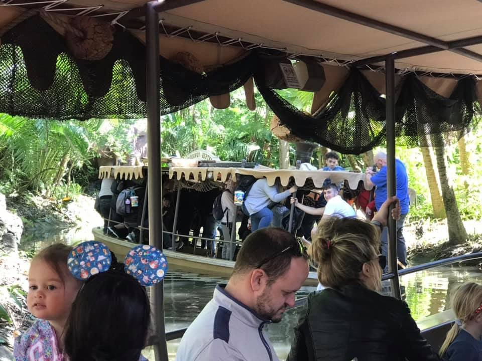 jungle cruise boat sinks