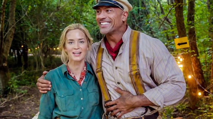 jungle cruise movie emily blunt dwayne johnson