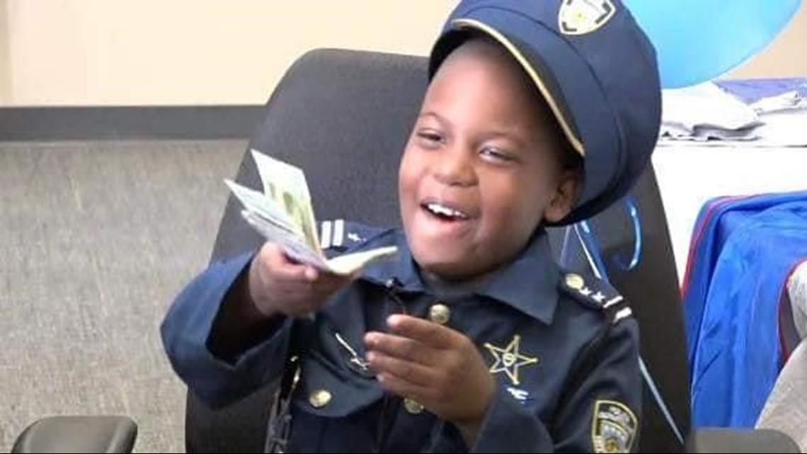 juvell harris honorary police officer dies
