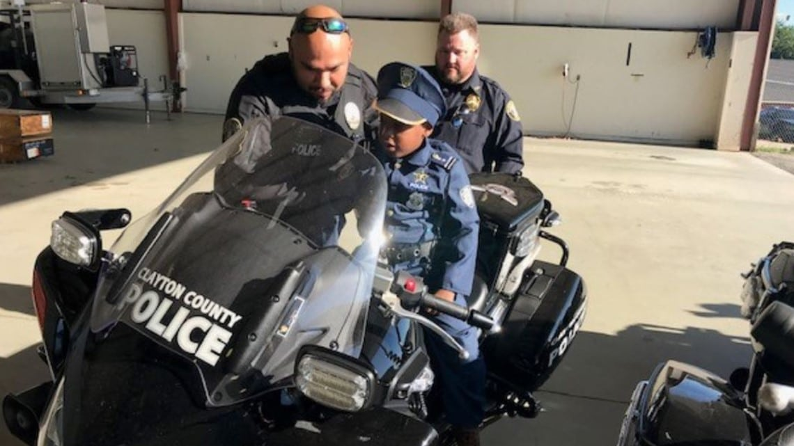 8-year-old juvell harris honorary police officer dies