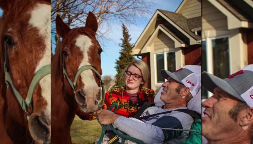 kansas cowboy kevin adkins gets to spend last day alive with his horse