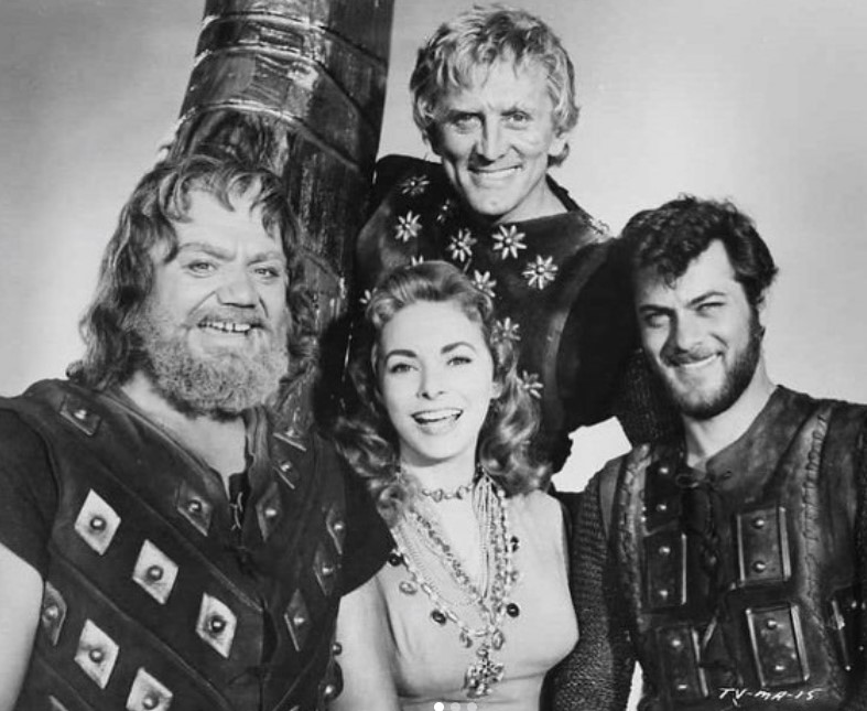 the vikings kirk douglas tony curtis janet leigh