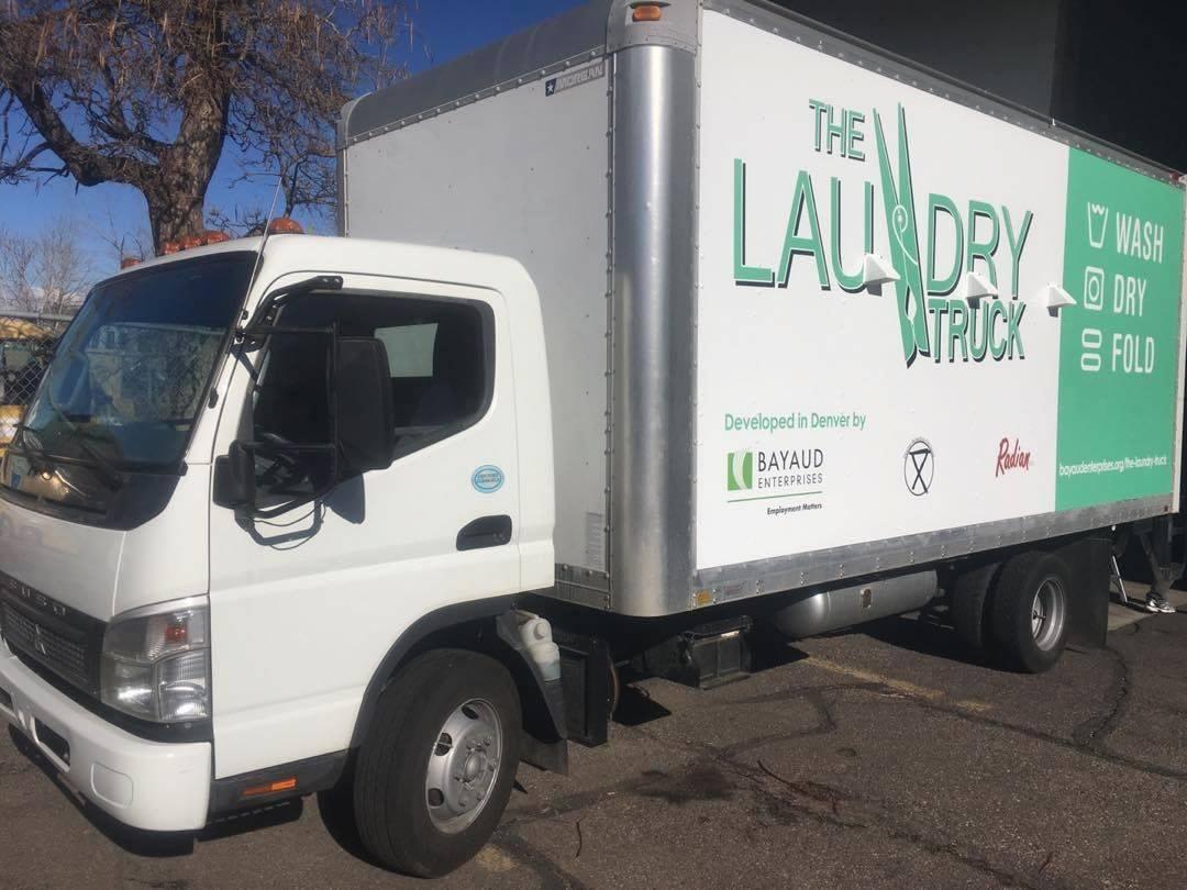 laundry truck for homeless