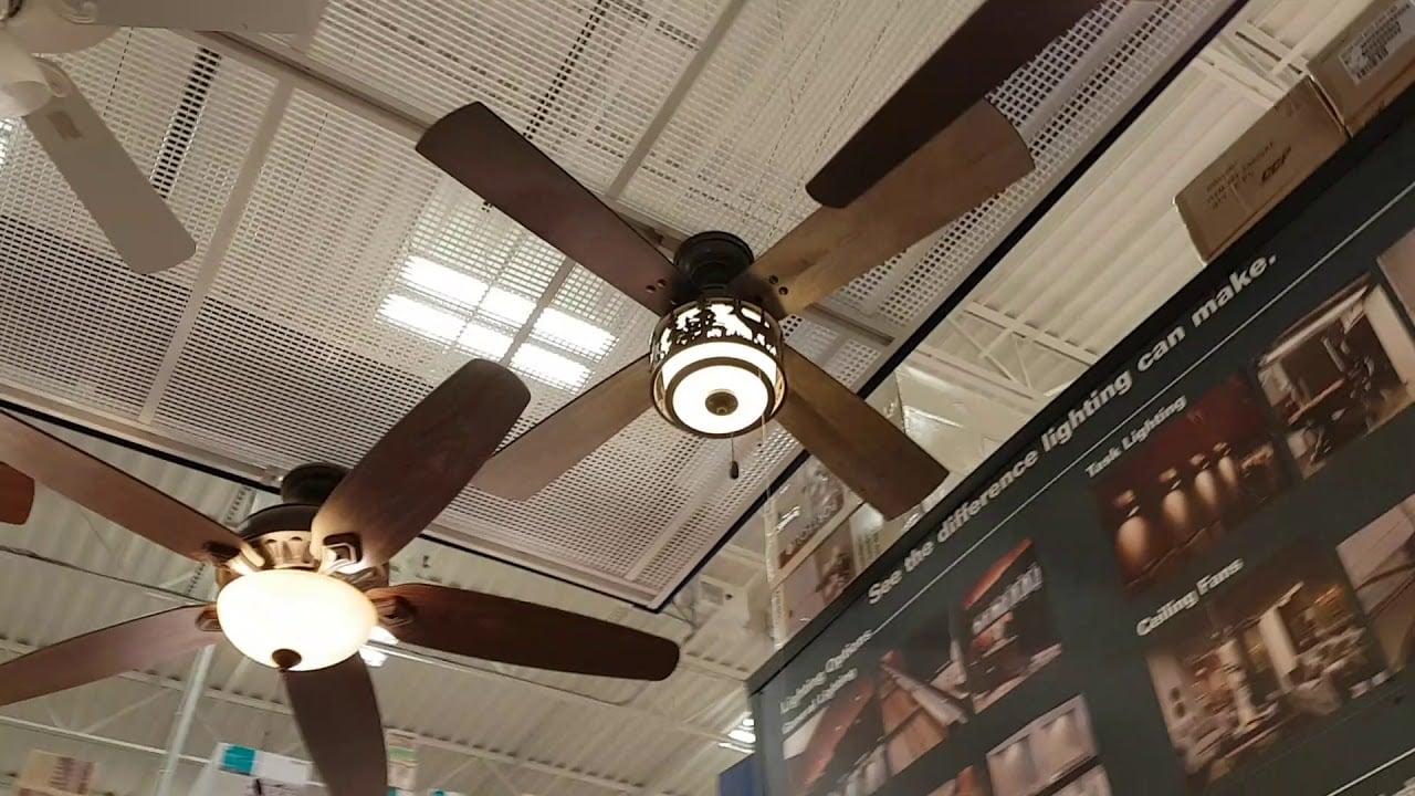 lowe's ceiling fans recalled