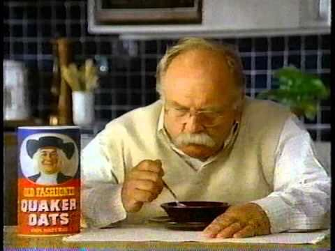 wilford brimley quaker oats commercial