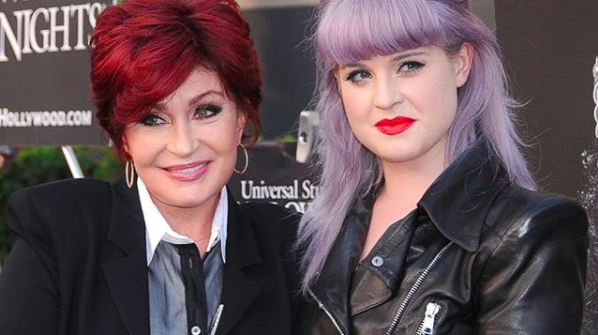 sharon osbourne debuts white hair