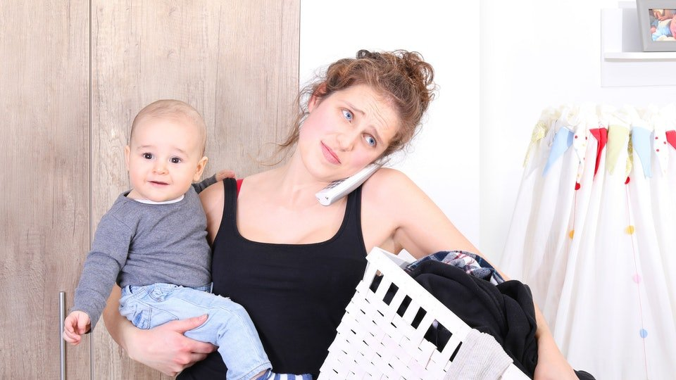 mom gets candid about challenges being a stay at home mom